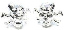 ETC Skulls Valve Cap Pair