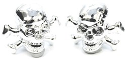 Product image for ETC Skulls Valve Cap Pair