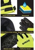 Proviz Reflective Waterproof Gloves