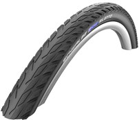 Product image for Schwalbe Silento Reflective K-Guard SBC Compound Wired 700c Hybrid Tyre