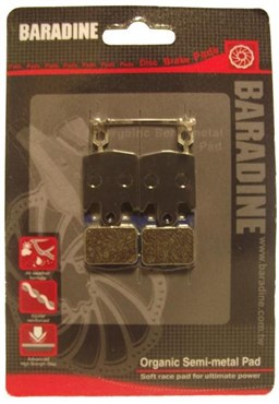Baradine Hope M4/DH4/Enduro 4 Organic Disc Brake Pads