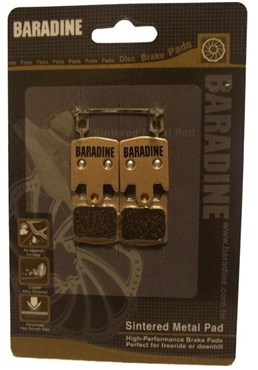 Baradine Hope M4/DH4/Enduro 4 Sintered Disc Brake Pads
