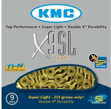 KMC X9SL Super Light 9 Speed Chain
