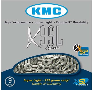 KMC X9SL Super Light 9 Speed Chain
