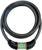 Master Lock Quantum Combi Phosphorescent Combination Cable Lock