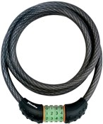 Product image for Master Lock Quantum Combi Phosphorescent Combination Cable Lock