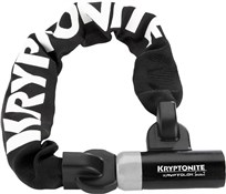 Product image for Kryptonite Kryptolok Series 2 955 Integrated Chain Lock - Silver Sold Secure