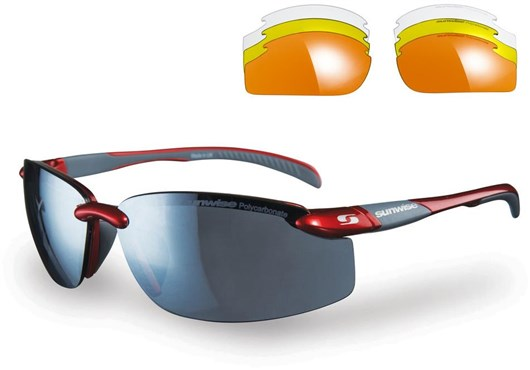 Sunwise Pacific Sunglasses With 4 Interchangeable Lenses