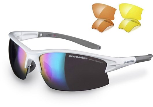 Sunwise Montreal Sunglasses With 3 Interchangeable Lenses