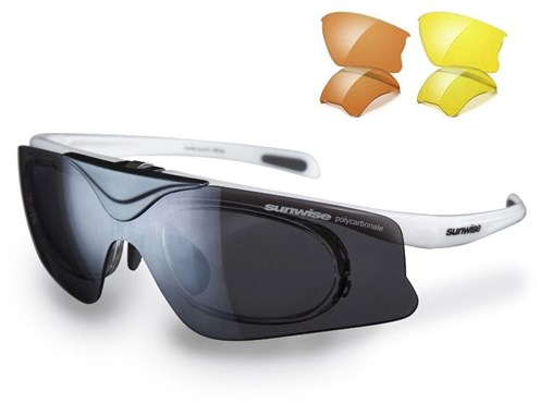 Sunwise Austin Sunglasses With 3 Interchangeable Lenses