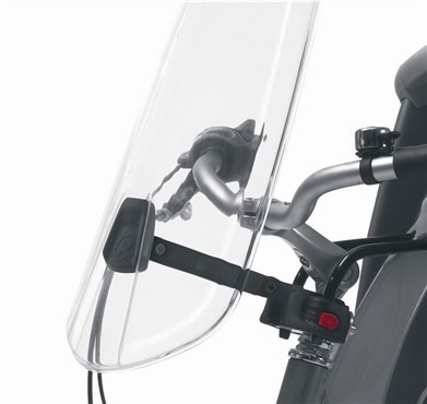 Polisport Childseat Wind Screen Seat Fixing