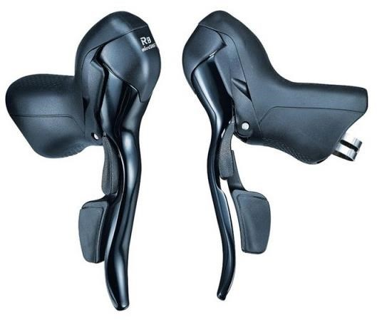 Microshift R8 8 Speed Road Shifter Levers | Gear levers