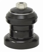"Savage Headset 1 1/8"" Cro-Mo Steel Heavy Duty Lower Cup Hollow Bolt Black"