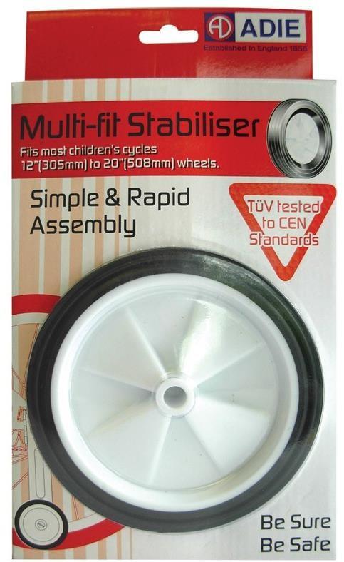 Adie CEN Stabiliser 12/20 Wheel   Wheelset