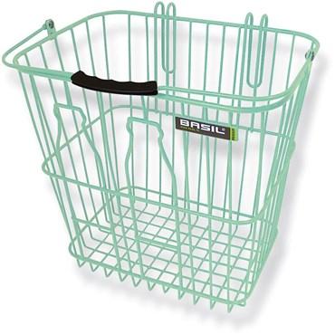 Basil Rear Milkbottle Bike Basket With Nylon Grip Handle