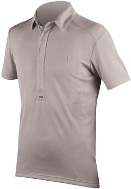 Endura Urban CoolMax Merino Short Sleeve Cycling Jersey Polo Shirt AW16