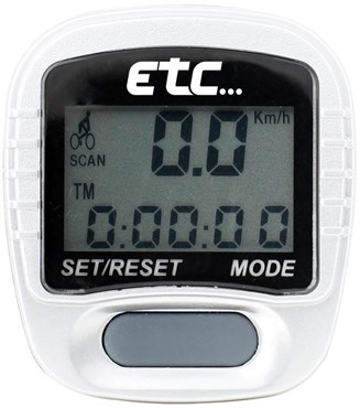 ETC Mach 1 Cycle Computer Wired