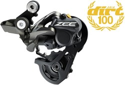 Product image for Shimano RD-M640 Zee 10 Speed Shadow Rear Derailleur