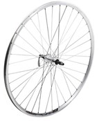 Product image for Tru-Build 700c Front Wheel Shimano Deore Hub Mach1 240 Rim