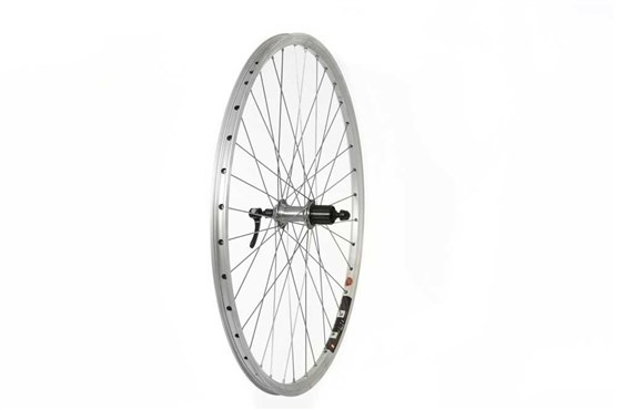 Tru-Build 700c Rear Wheel Mach1 240 Rim Shimano Deore 8/9spd Cassette Hub