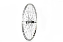 Product image for Tru-Build 700c Rear Wheel Mach1 240 Rim Shimano Deore 8/9spd Cassette Hub