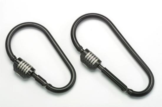 Squire Snaplok Combination Lock - Sold Secure Silver