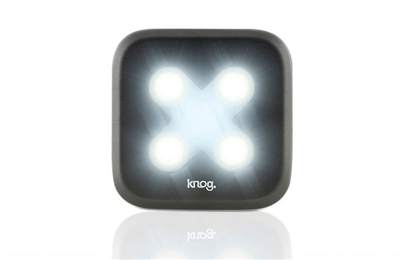 Knog Blinder 4 LED Cross USB Rechargeable Front Light