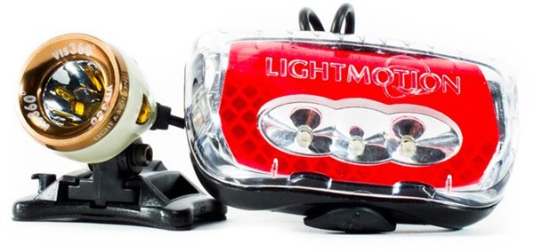 Light and Motion Vis 360 Plus Rechargeable Light System Set
