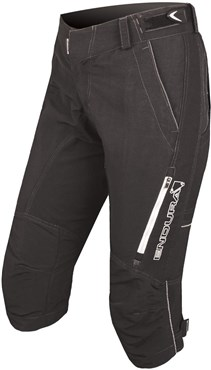 Endura SingleTrack II Womens 3/4 Baggy Cycling Shorts
