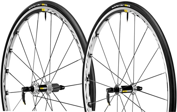 Mavic Ksyrium Elite S Clincher Road Wheel With Wheel-Tyre System 2015