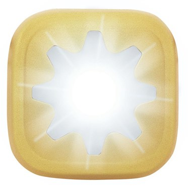 Knog Blinder 1 LED Cog USB Rechargeable Front Light