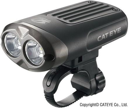 Cateye Nano Shot Plus EL-625RC Rechargeable Front Light