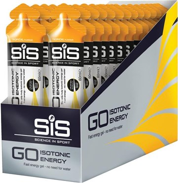 SiS Isotonic Energy Gel - Box of 30