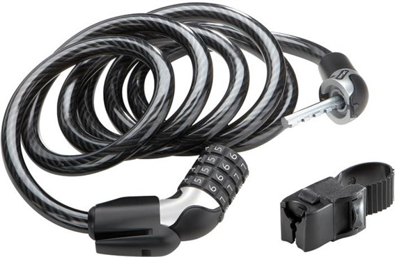 Kryptonite 1218 Resettable Combo Cable with FlexFrame C Bracket