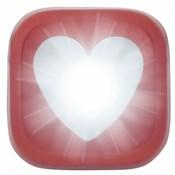 Knog Blinder 1 LED Heart USB Rechargeable Front Light