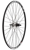 Product image for Tru-Build 700c Rear Wheel Mach1 Omega Rim 10spd Shimano 105 32H Hub QR