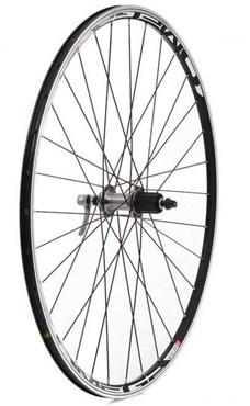 Tru-Build 700c Rear Wheel Mach1 Omega Rim 10spd Shimano 105 32H Hub QR