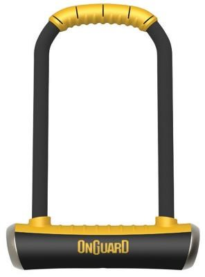 OnGuard Brute Lock Shackle U-Lock - Gold Sold Secure Rating | Combo Lock