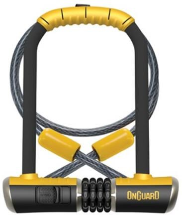 OnGuard Bulldog DT Combo U-Lock with Cable | Combo Lock