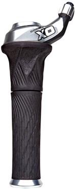 SRAM X0 Grip Shift Set w/ Lock-On Stationary Grips (Pair)