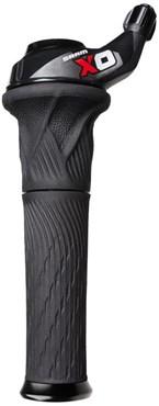 SRAM X0 Grip Shift Rear (w/Lock-on Stationary Grips)