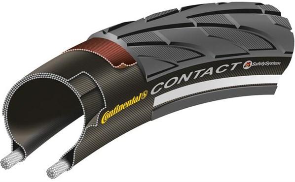 Continental Contact II Reflex Hybrid Tyres