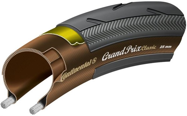 Continental Grand Prix Classic Black Chili 700c Folding Tyre