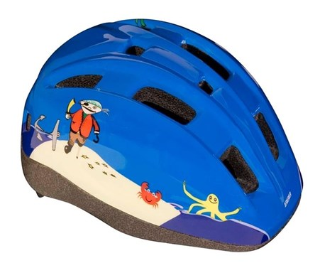 BBB BHE-46 - Mini Pirate Kids Helmet