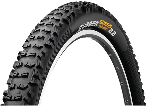 Continental Rubber Queen Black Chilli Off Road MTB Folding Tyre