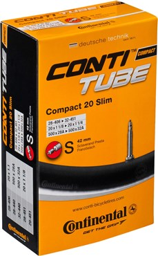 Continental Recumbent 20 Inch Presta Inner Tube