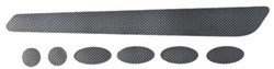 Product image for BBB BBP-51 - Bikeskin Frame Protectors Carbon