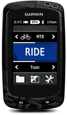 Garmin Edge 810 GPS-Enabled Computer with Cadence, HRM, microSD-City Navigator NT
