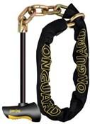 OnGuard Beast Chain Lock with X2 Steel T Bar
