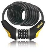 OnGuard Doberman Series Combo Coil Cable Lock